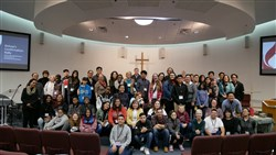 Central Valley District Bishop's Confirmation Rally