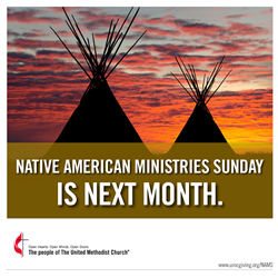 Planning Ahead for Native American Ministries Sunday