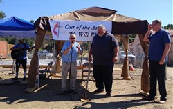 'Out of the Ashes': Community UMC in Lower Lake Breaks Ground
