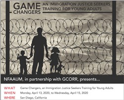 Register by Dec. 15 for 'Game Changers' Immigration Justice Seekers Training for Young Adults